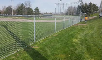 Chain Link Fence Brampton Mississauga Oakville Toronto